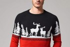 Reindeer Crewneck Christmas Jumper