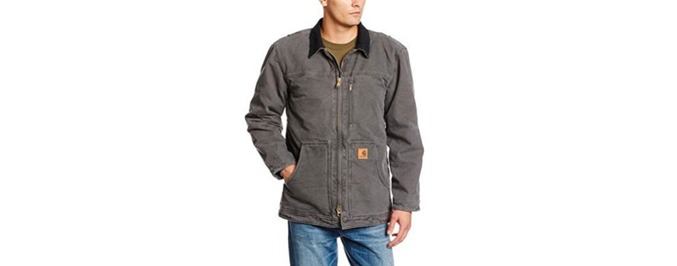 Ridge Coat Sherpa Lined Sandstone C61