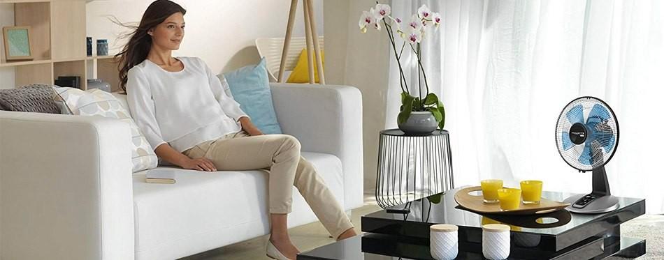 Ventilateur de table électronique Rowenta VU2660 Turbo Silence Extreme