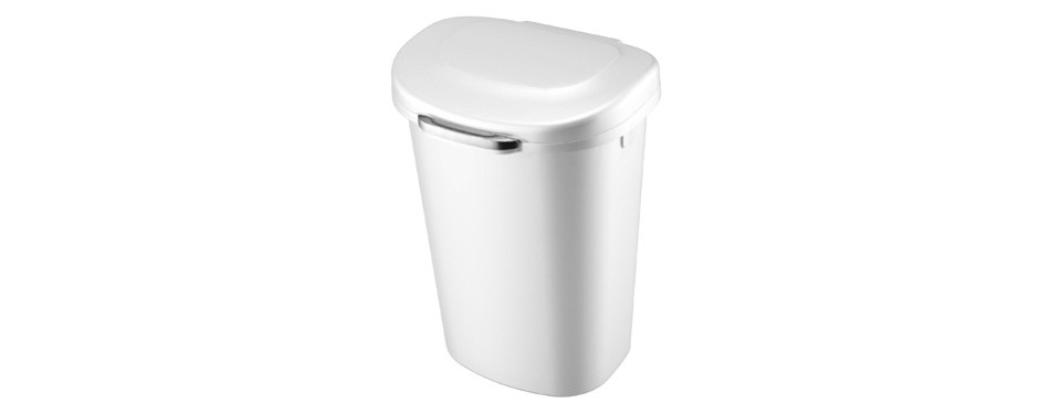 Rubbermaid Touch Top Lid Trash Can for Home