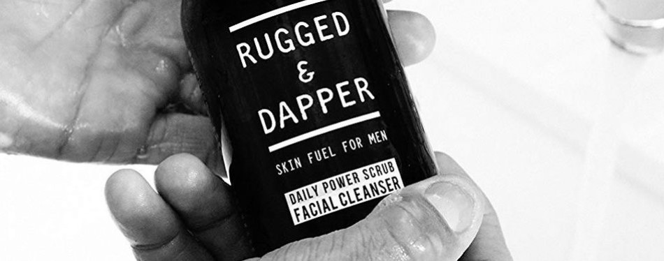 Rugged and Dapper Foaming Exfoliator For Men