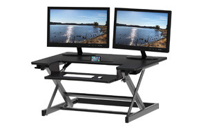 SHW Height Adjustable Sit to Stand Desk