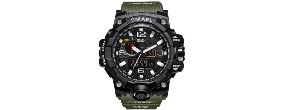 SMAEL Men's Sports Analog