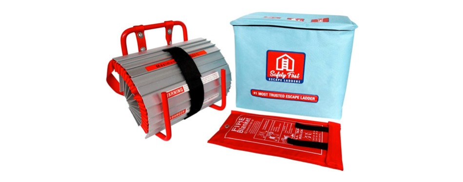 Safety First Co. 2 Story Fire Escape Ladder