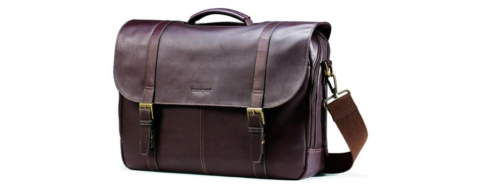 Samsonite Colombian Leather Flap Over