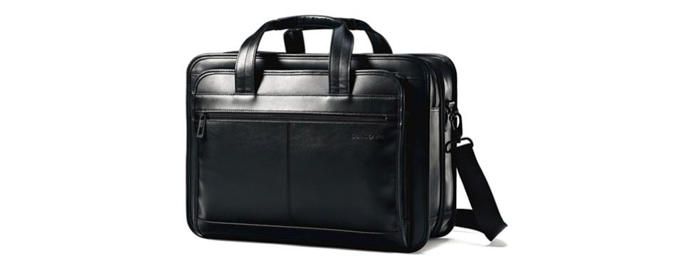 Samsonite Leather Briefcase