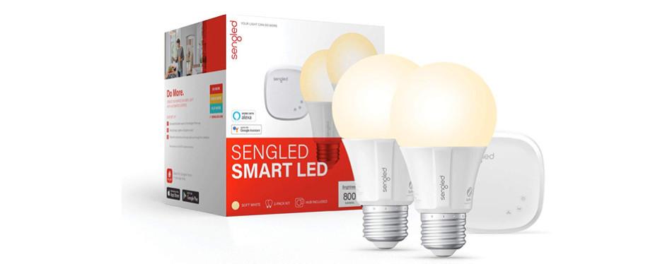Sengled Smart LED Soft White A19 Starter Kit