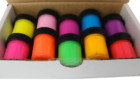 Set Of 10 Neon Rave Glow In The Dark Paint
