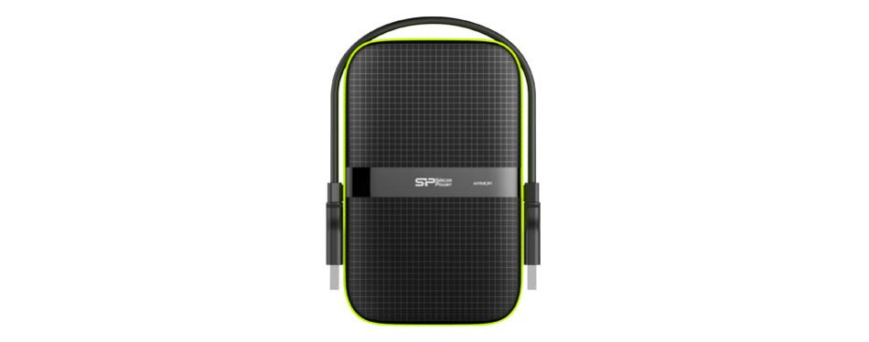 Silicon Power Rugged Portable External Hard Drive Armor A60