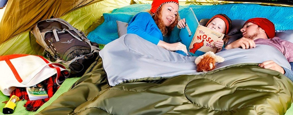 Sleepingo Queen-Sized Double Sleeping Bag