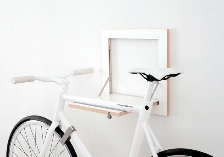 Slit Bike Rack