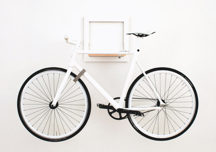 Slit Bike Rack