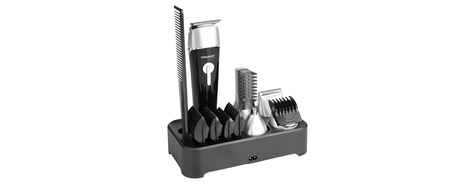 Sminiker Professional Waterproof Beard Trimmer Set