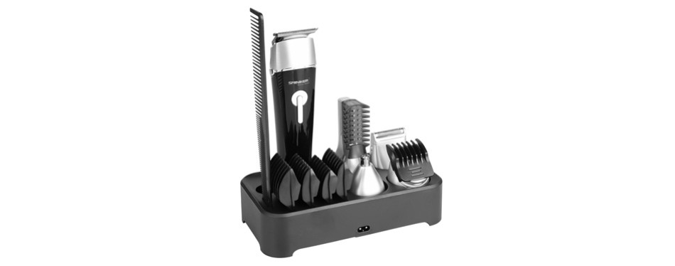 Sminiker Professional Waterproof Beard Trimmer Set
