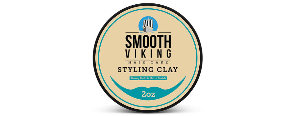 Smooth Viking Styling Hair Clay