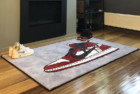 Spilled Off-White Jordan 1 Rug