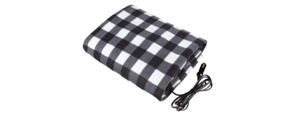 Stalwart Electric Heated Car Blanket