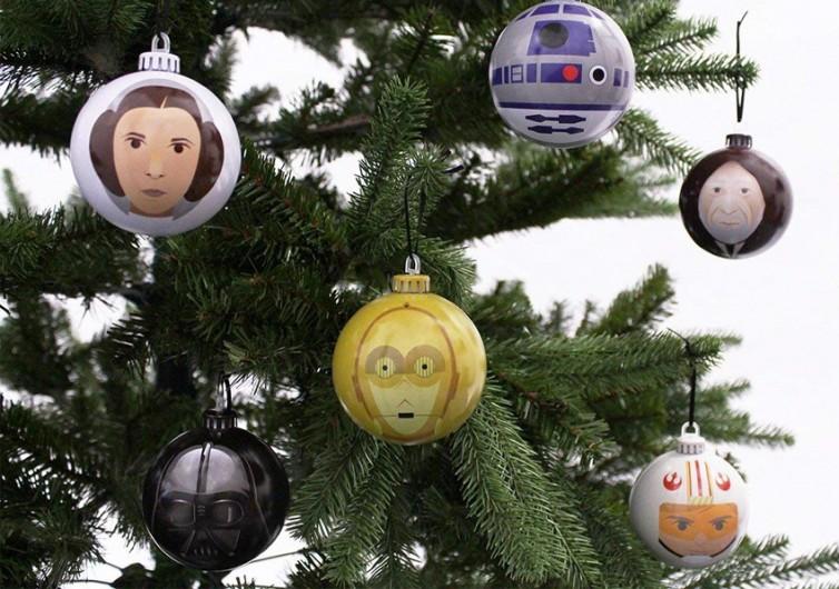 Star Wars A New Hope Christmas Tree Ornaments