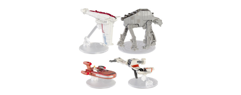 Star Wars Hot Wheels Spaceship Models Toys Set