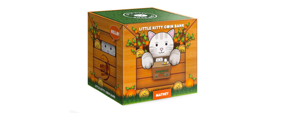 Stealing Coin Cat Box