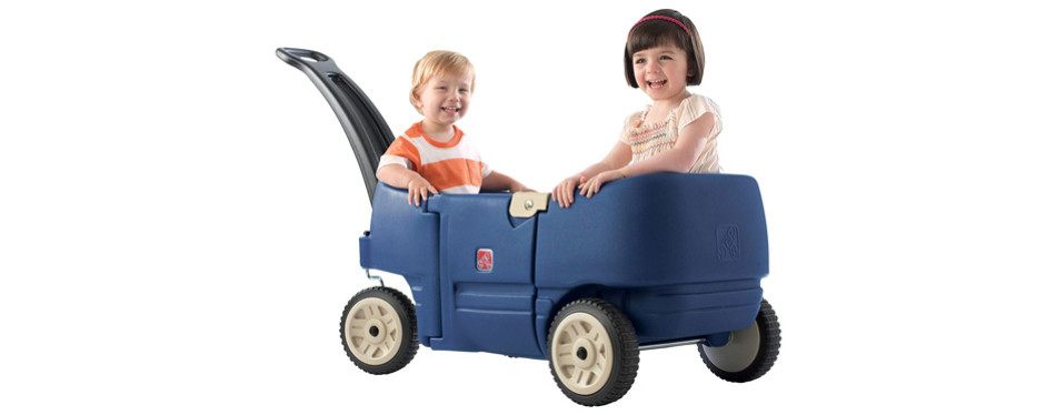 Step2 Wagon for Two Plus Blue