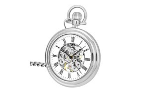 Stuhrling Mechanical Vintage Front Pocket Watch