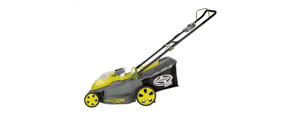 Sun Joe Brushless Motor Cordless Lawn Mower