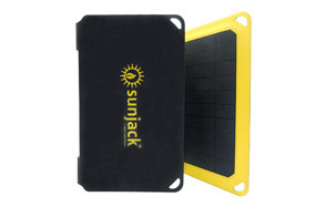 SunJack 15W Solar Charger Power Bank