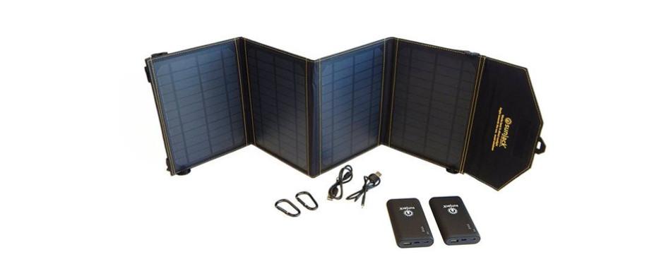 SunJack 20W Solar Charger Power Bank