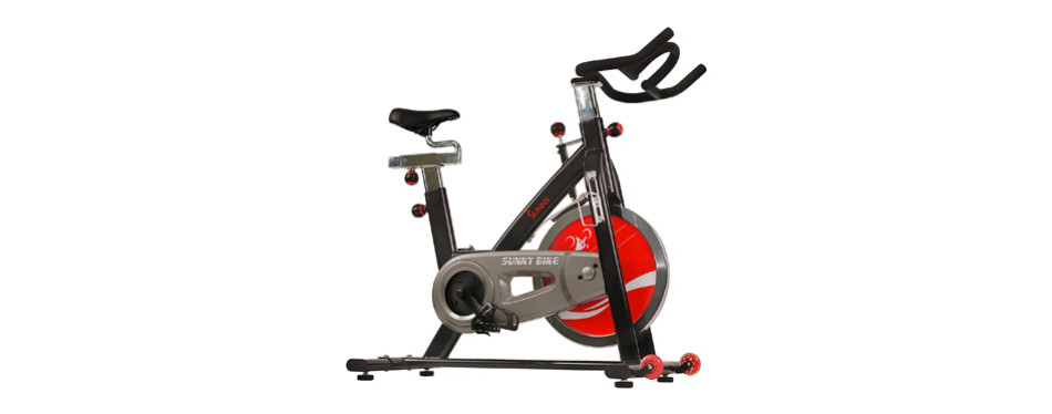 Sunny Health & Fitness 49 Lb Indoor Cycle Bike