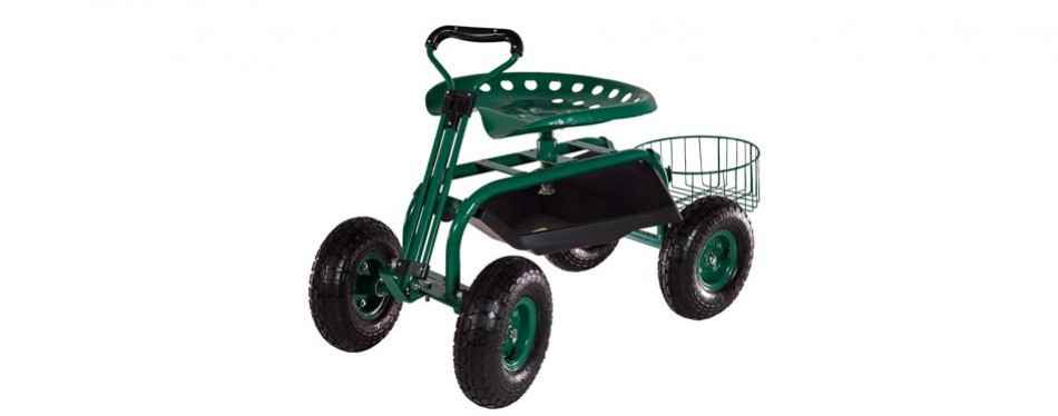 sunnydaze garden cart