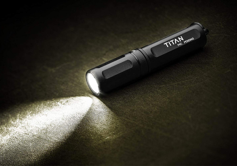 SureFire Titan Ultra-Compact LED Flashlight