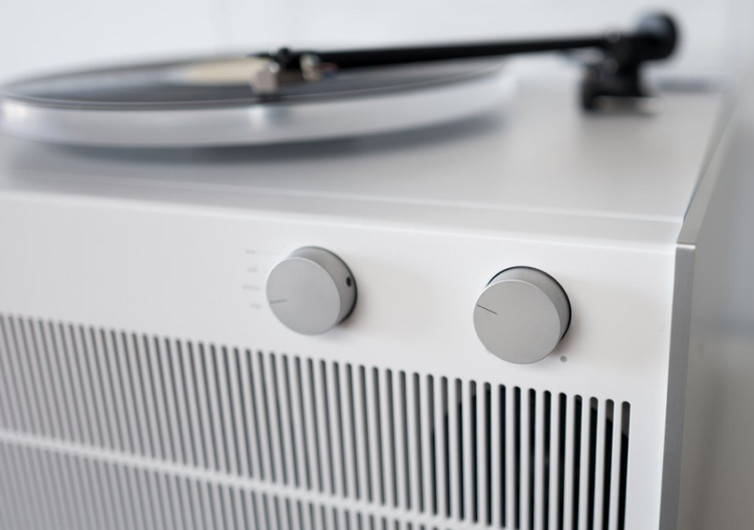 Symbol Modern Record Player