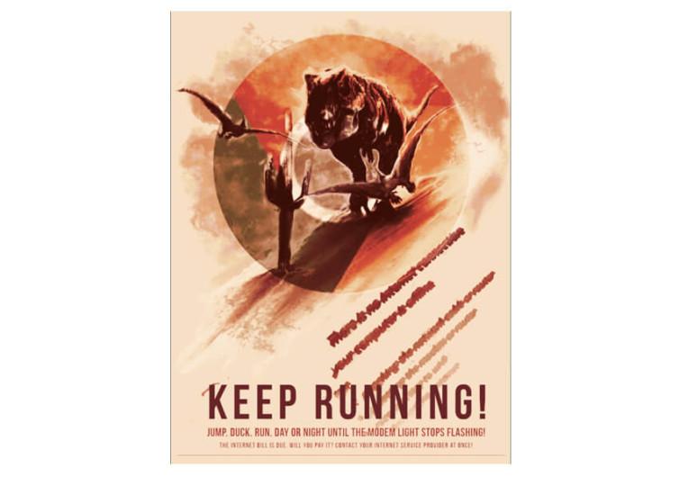T-Rex Run- Keep Running