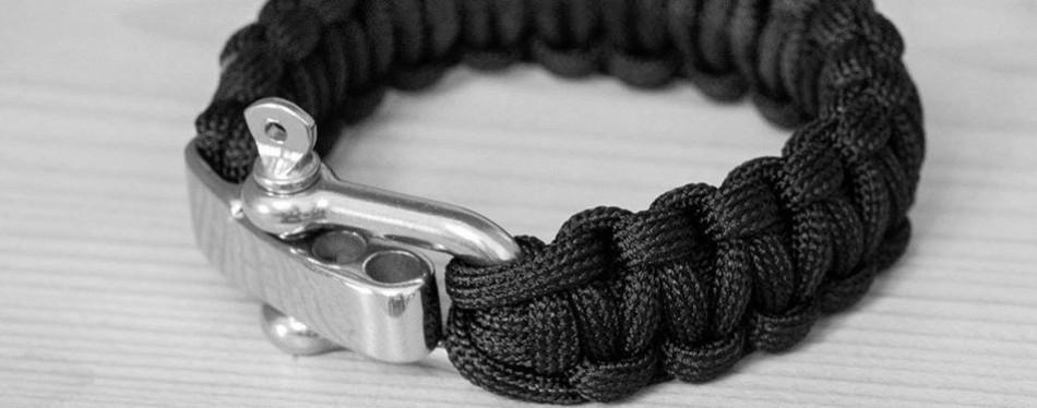TI-EDC Survival Paracord Bracelet