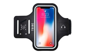 TRIBE Water Resistant Cell Phone Running Armband