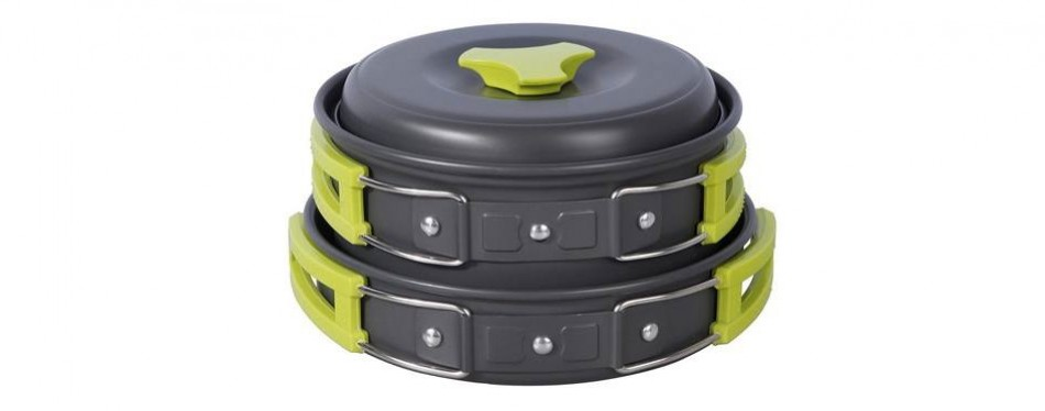TTLIFE Camping Cookware Kit