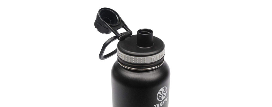 Takeya Originals Vacuum-Insulated Stainless-Steel Water Bottle