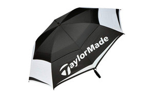 TaylorMade Golf 2017 Tour Double Canopy Umbrella