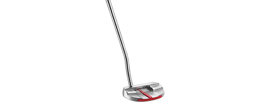 taylormade big red monte carlo golf putter (super stroke)