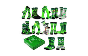 TeeHee Special Holiday 12-Pairs Socks with Gift Box