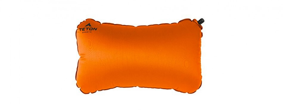 Teton Sports Comfortlite Self Inflating Camping Pillow