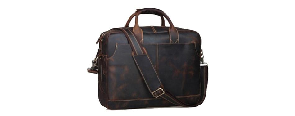 Texbo Genuine Leather Messenger