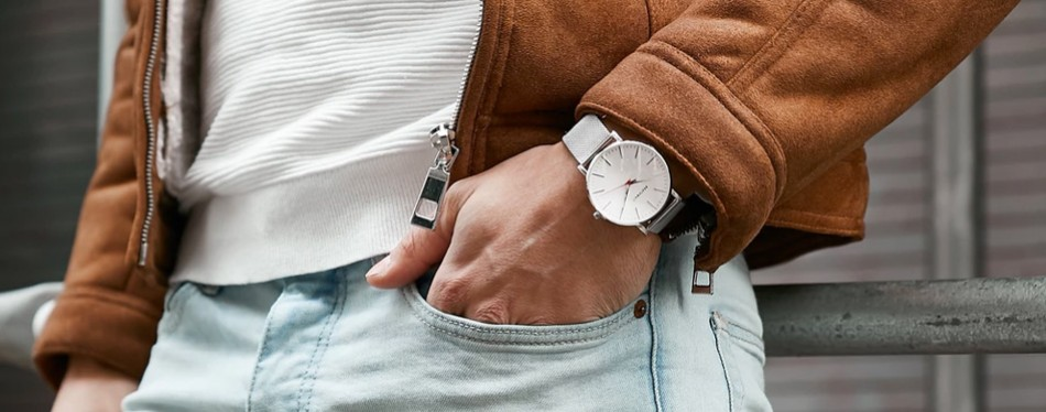 The Classic Slim Wrist Minimalist Watch