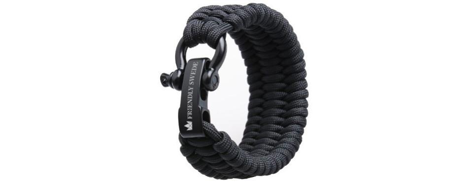 The Friendly Swede 500lb Paracord Survival Bracelet