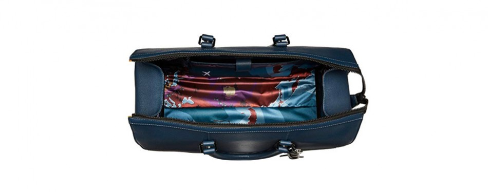 The Leather Duffel, by Ted Baker London