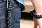 The ORIGINAL Bomber Firestarting Paracord Bracelet