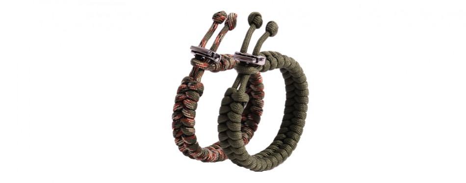 The Friendly Swede Fishtail Paracord Survival Bracelet