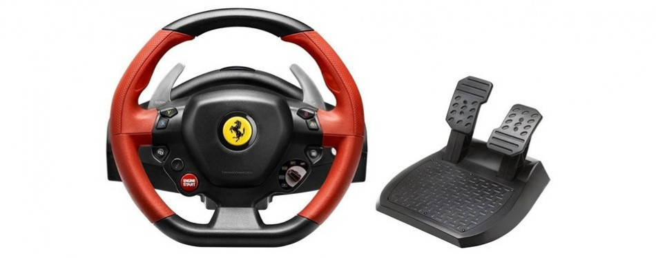 Thrustmaster Ferrari 458 Spider Racing Wheel for Xbox On