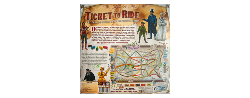 Ticket to Ride Board Game
